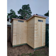 Кладовка и туалет