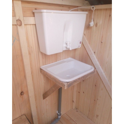 Умывальник и раковина для дачного туалета