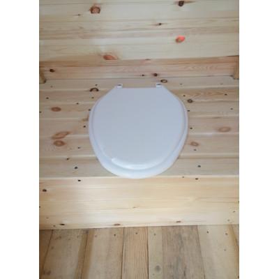 Пластиковое сиденье для дачного туалета